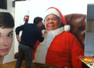 Santa Andy, Work in Progress